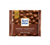 RITTER SPORT WHOLE HAZELNUTS CHOCOLATE 100G