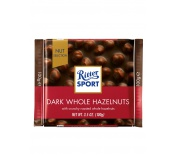 RITTER DARK WHOLE HAZELNUTS CHOCOLATE 100G