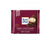 RITTER DARK CHOCOLATE 100 GR